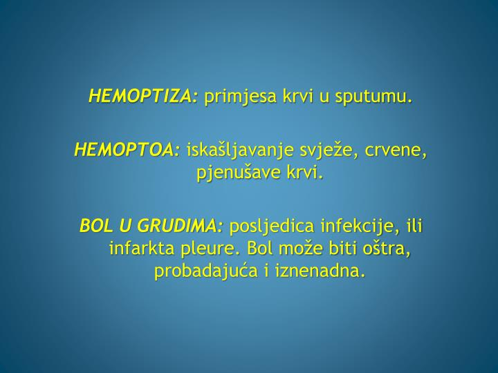 HEMOPTIZA: