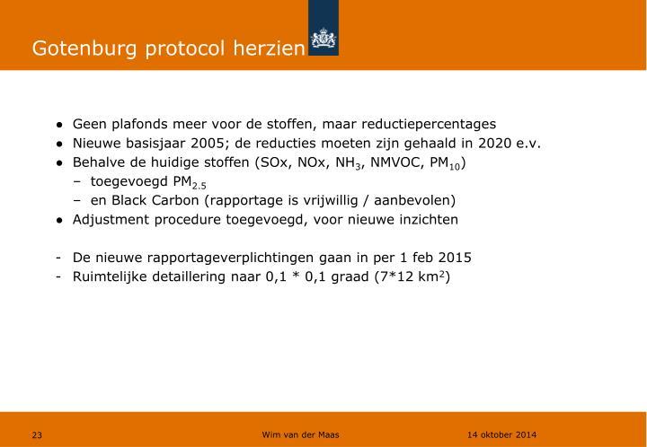 Gotenburg protocol herzien