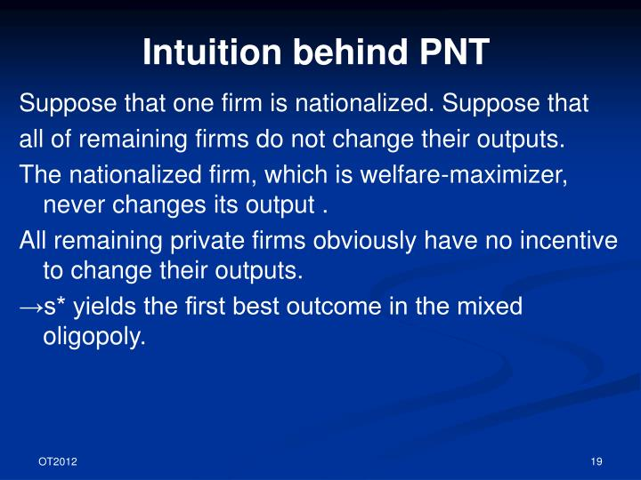 Intuition behind PNT