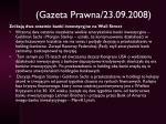 gazeta prawna 23 09 2008