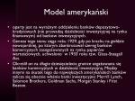 model ameryka ski