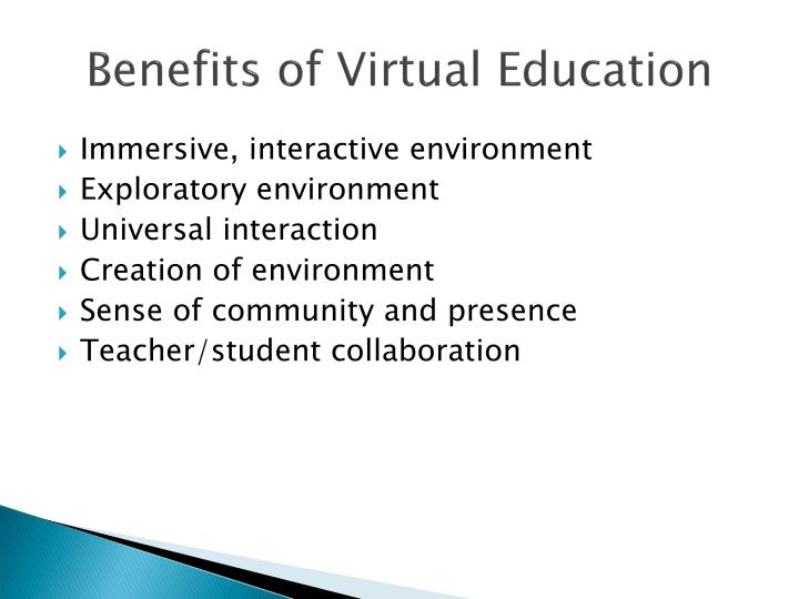 Benefits of Virtual Education