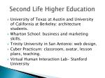 second life higher education2