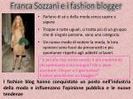 franca sozzani e i fashion blogger