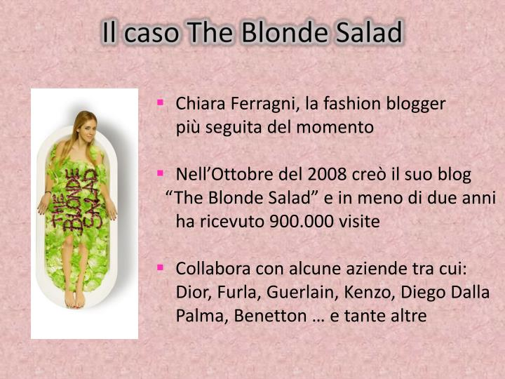 Il caso The Blonde