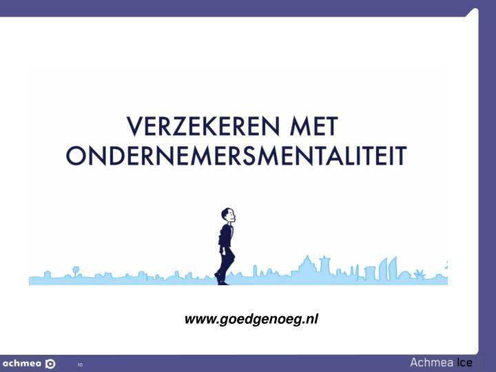 www.goedgenoeg.nl