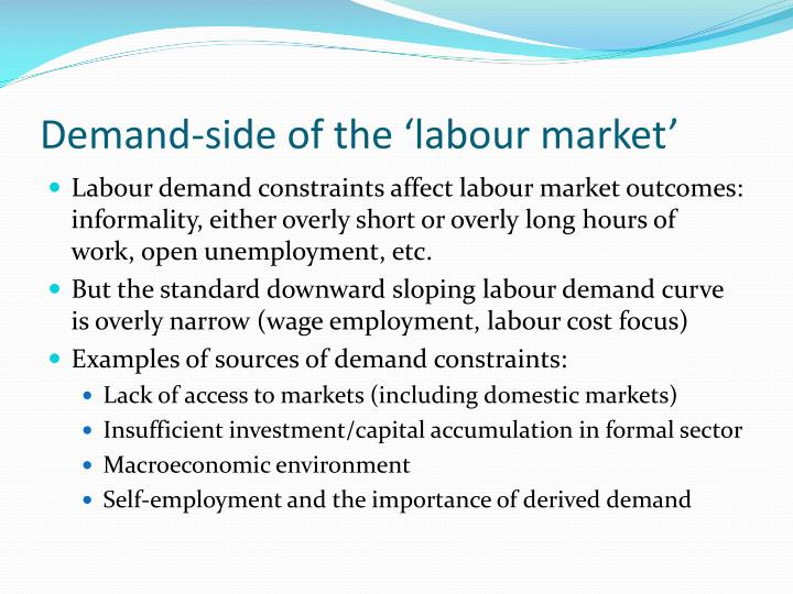 essay importance of the labour market Essays on the construction, constitution and regulation of labour markets  are, as arbitration declines, becoming increasingly important to their clients' interests.