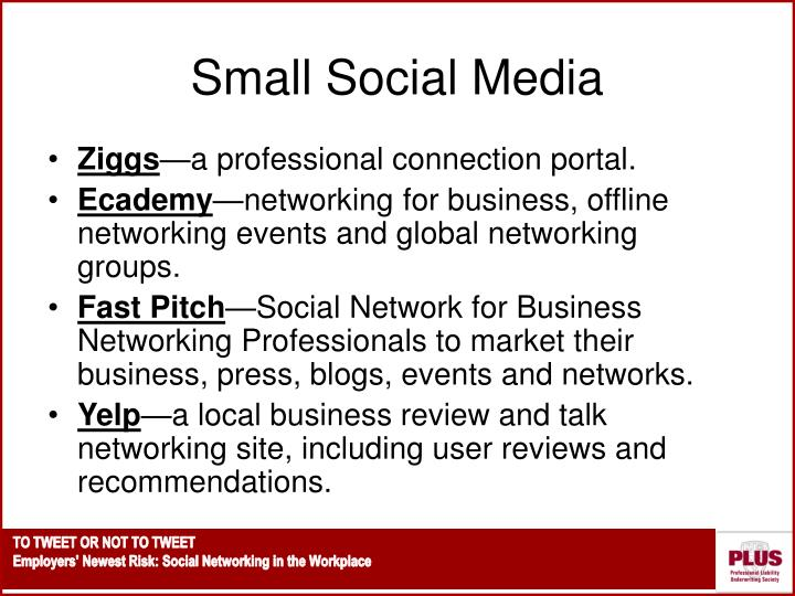Small Social Media