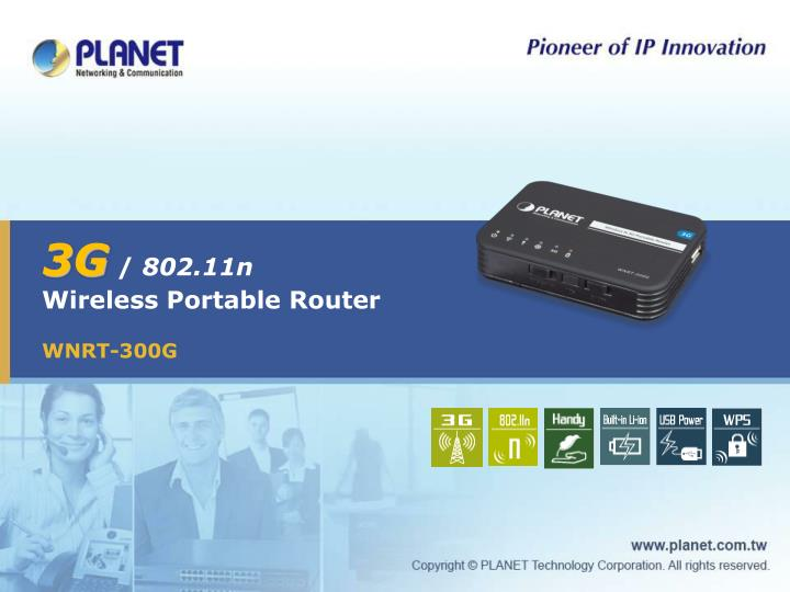 3g 802 11n wireless portable router
