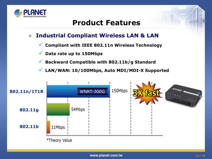 Industrial Compliant Wireless LAN & LAN