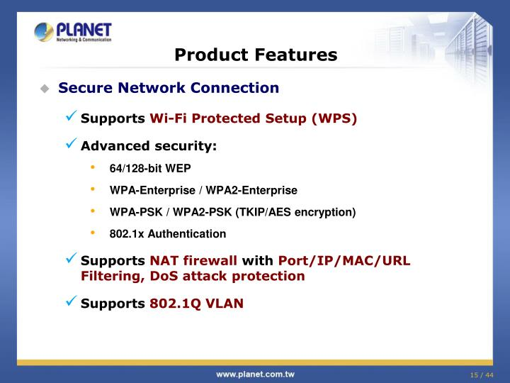 Secure Network Connection
