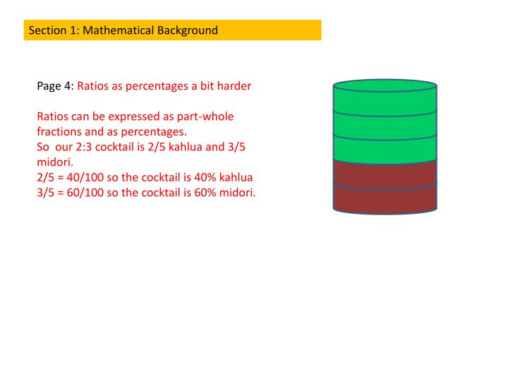 Section 1: Mathematical Background