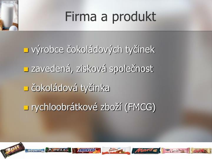 Firma a produkt