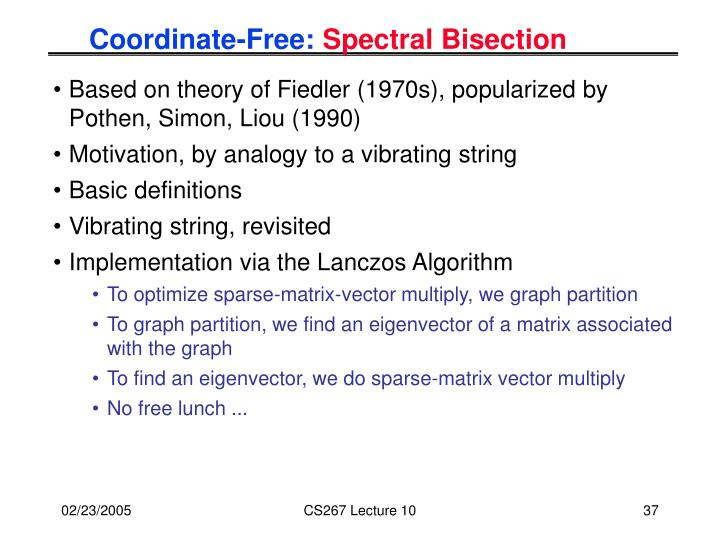 Coordinate-Free: