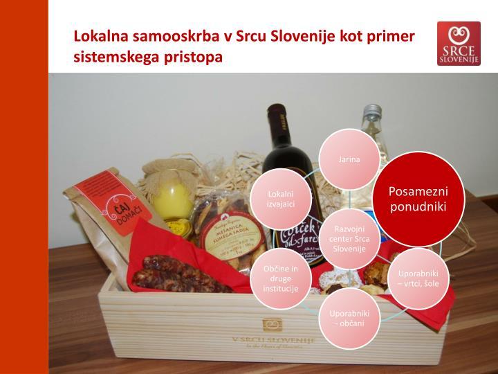 Lokalna samooskrba v Srcu Slovenije kot primer sistemskega pristopa