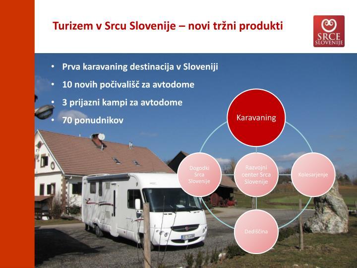 Turizem v Srcu Slovenije – novi tržni produkti