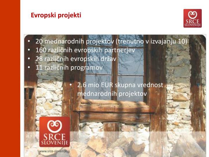 Evropski projekti