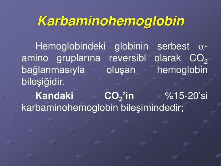 Karbaminohemoglobin
