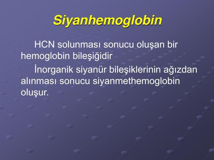 Siyanhemoglobin