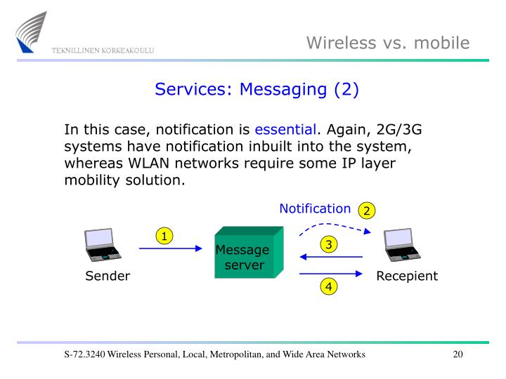 Services: Messaging (2)