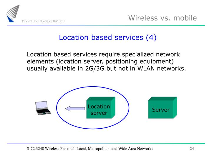 Location based services (4)