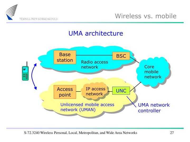 UMA architecture
