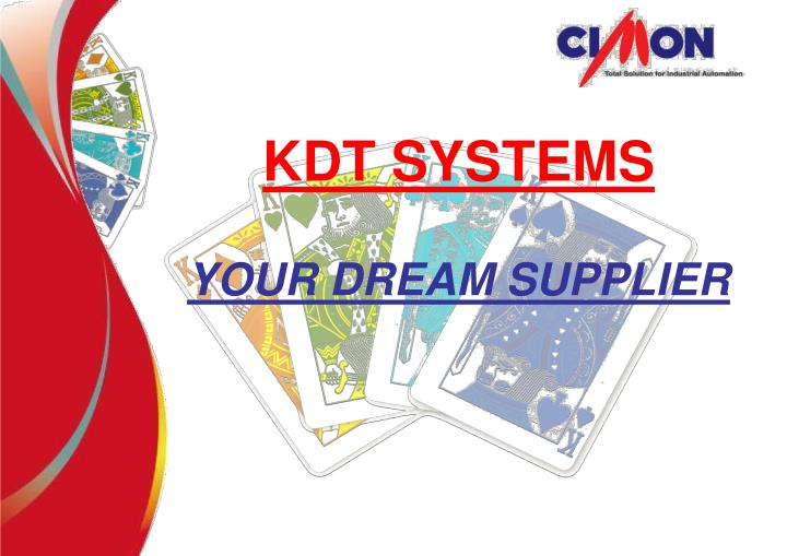 KDT SYSTEMS