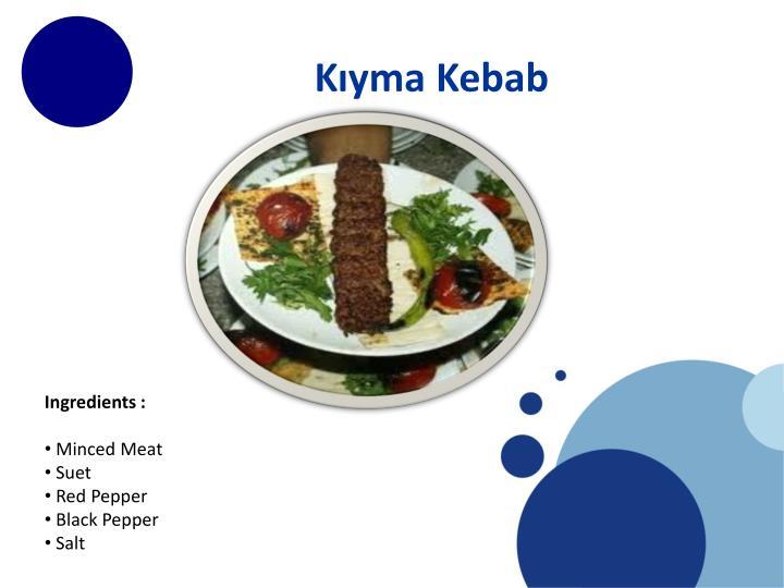 Kıyma Kebab