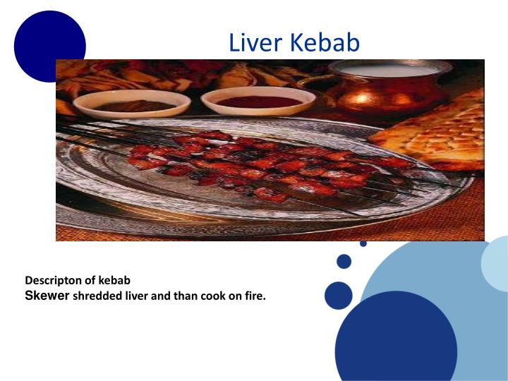 Liver Kebab