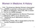 women in medicine a history11