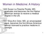 women in medicine a history3