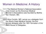 women in medicine a history5