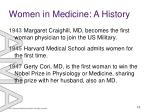 women in medicine a history6