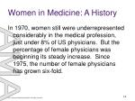 women in medicine a history8
