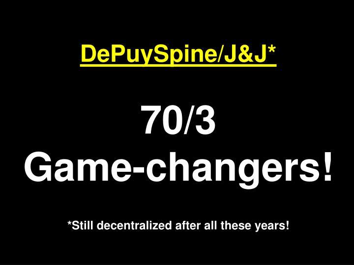 DePuySpine/J&J*