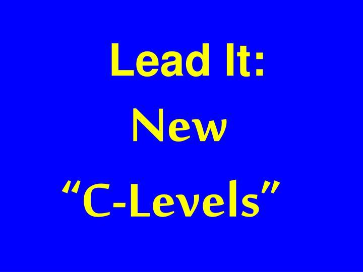Lead It: