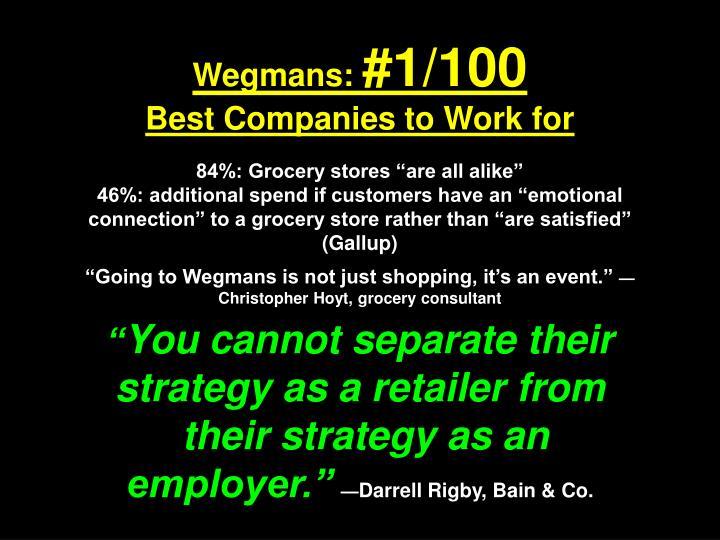 Wegmans: