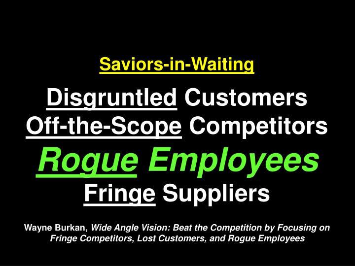 Saviors-in-Waiting