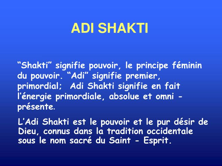 ADI SHAKTI