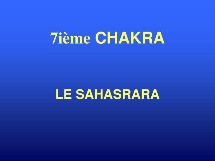 LE SAHASRARA