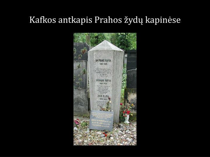 Kafkos antkapis Prahos žydų kapinėse