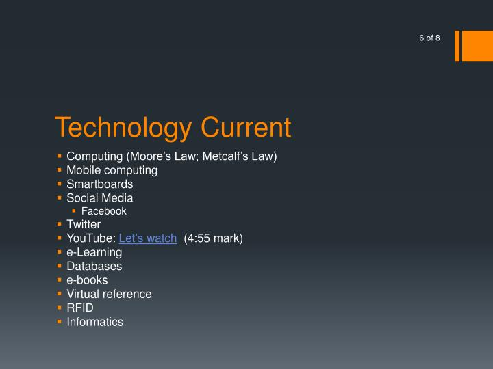 Technology Current