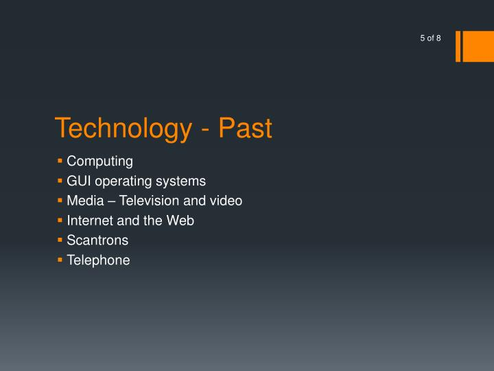 Technology - Past