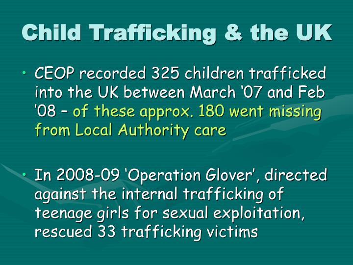 Child Trafficking & the UK