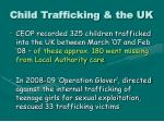 child trafficking the uk