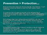 prevention protection