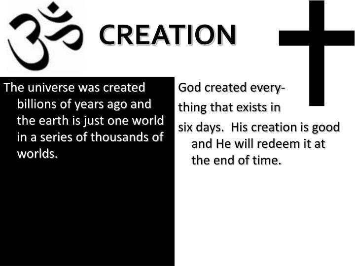 God created every-