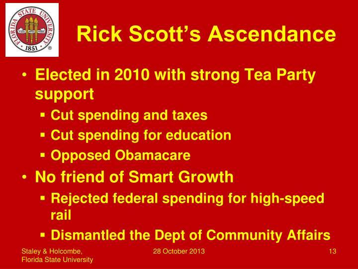 Rick Scott's Ascendance