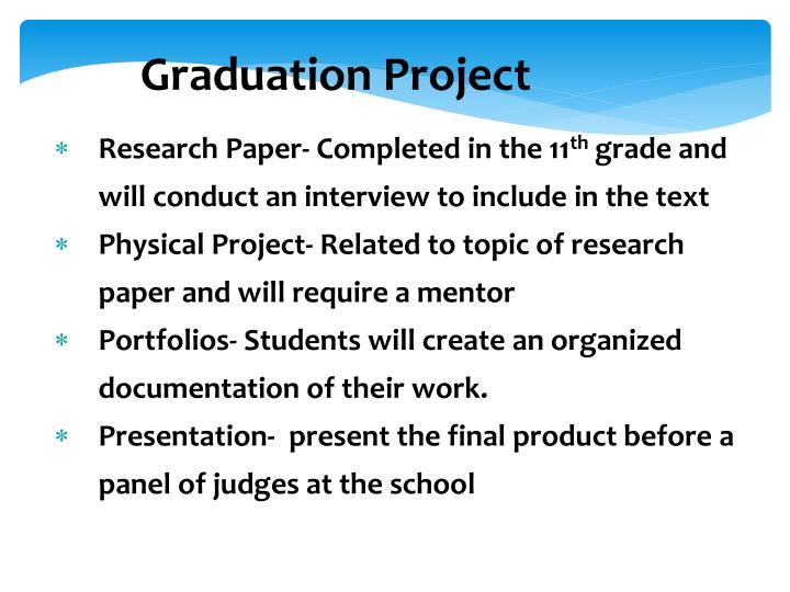 Graduation Project