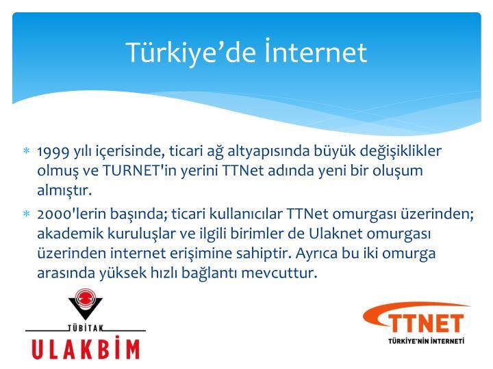 Türkiye'de İnternet